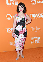 02 December 2018 - Beverly Hills, California - Mara Wilson. 2018 TrevorLIVE Los Angeles held at The Beverly Hilton Hotel. <br /> CAP/ADM/BT<br /> &copy;BT/ADM/Capital Pictures