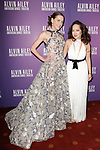"""Dancer Abigail Simon (left) and fashion designer Chong Cha arrive at the Alvin Ailey American Dance Theater """"Modern American Songbook"""" opening night gala benefit at the New York City Center on November 29, 2017."""