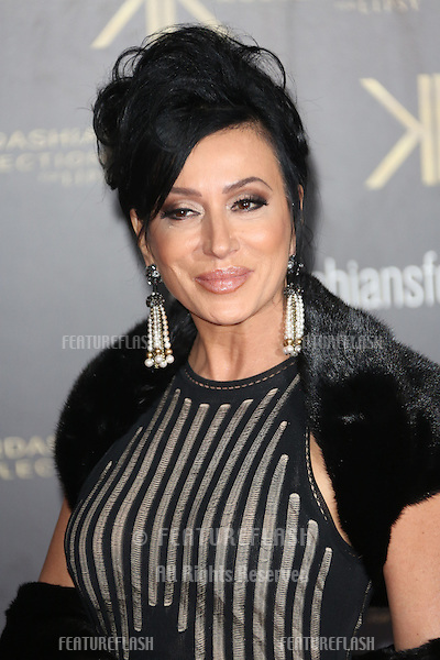 Nancy Dell'Olio at the Kardashian Kollection For Lipsy  launch party held at the Natural History Museum, London. 14/11/2013 Picture by: Henry Harris / Featureflash