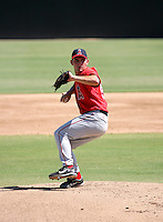 Tyler Chatwood / Los Angeles Angels 2008 Instructional League..Photo by:  Bill Mitchell/Four Seam Images