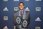 January 17th, 2013: #5 draft pick Erik Hurtado, selected by the Vancouver Whitecaps FC. The 2013 MLS SuperDraft was held during the NSCAA Annual Convention held in Indianapolis, Indiana.