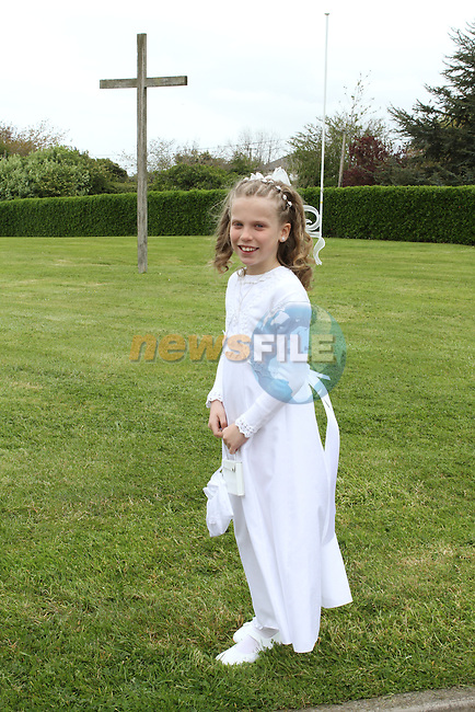 at Donacarney NS Communion in The Star of the Sea Church...(Photo Jenny Matthews/www.newsfile.ie)