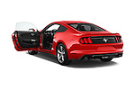 Car images of a 2017 Ford Mustang V6 2 Door Coupe Doors