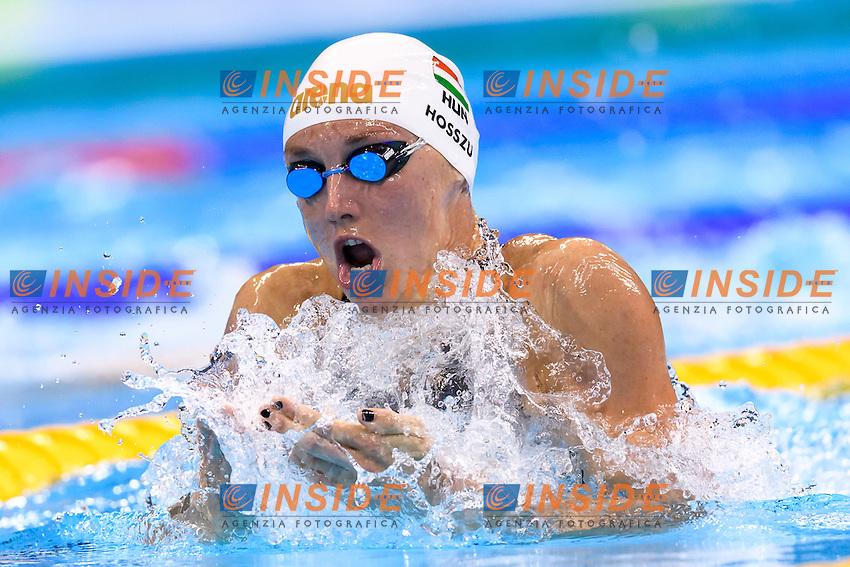 HOSSZU Katinka HUN <br /> Women's 100m Individual Medley <br /> Rio de Janeiro 08-08-2016 Olympic Aquatics Stadium <br /> Swimming Nuoto <br /> Foto Andrea Staccioli/Deepbluemedia/Insidefoto