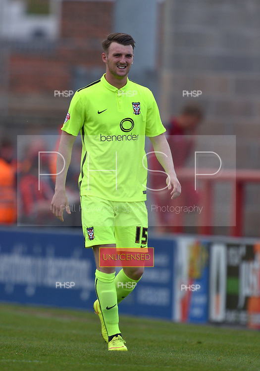 07/05/2016 Sky Bet League Two Morecambe v York City<br /> Kyle Cameron