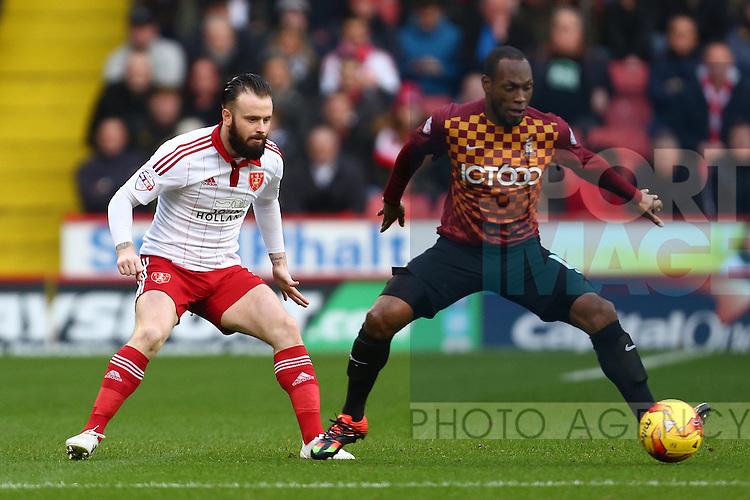 Sheffield United's Josh Brayford - Sheffield United vs Bradford City - Skybet League One - Bramall Lane - Sheffield - 28/12/2015 Pic Philip Oldham/SportImage