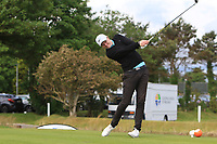 Eugene Smith (Links Portmarnock) on the 1st tee during Round 2 of The East of Ireland Amateur Open Championship in Co. Louth Golf Club, Baltray on Sunday 2nd June 2019.<br /> <br /> Picture:  Thos Caffrey / www.golffile.ie<br /> <br /> All photos usage must carry mandatory copyright credit (© Golffile   Thos Caffrey)