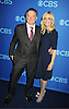 """Robin Williams and Sarah Michelle Gellar of """"The Crazy Ones"""" attend the CBS Prime Time 2013 Upfront on May 15, 2013 at Lincoln Center in New York City."""
