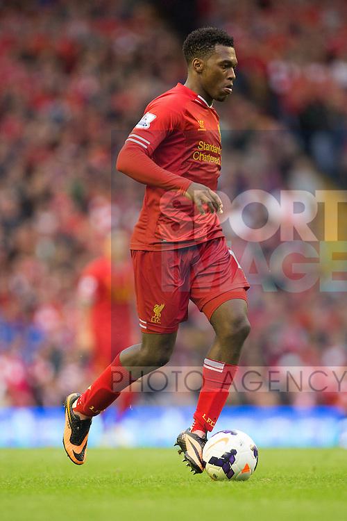 Daniel Sturridge of Liverpool - Liverpool vs. Stoke City -  Premier League - Anfield - Liverpool - 17/08/2013 Pic Philip Oldham/Sportimage