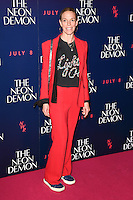 "Tiphaine De Lussy<br /> arrives for the premiere of ""The Neon Demon"" at the Picturehouse Central, London.<br /> <br /> <br /> ©Ash Knotek  D3125  30/05/2016"