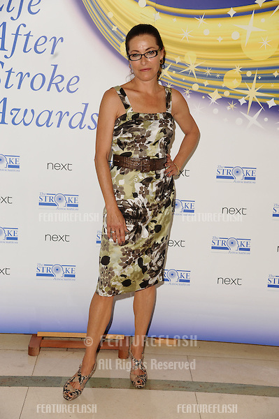 Amanda Donohoe arrives the Life After Stroke Awards 2011 at Cl;aridges Hotel, London. 02/06/2011  Picture by: Steve Vas / Featureflash