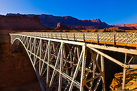 Navajo Bridge, Paria Canyon-Vermillion Cliffs Wilderness Area, Arizona, USA