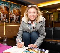 EXCLUSIF : Alexandra Lamy lors de l'avant-premi&egrave;re du film &quot; Chamboultout &quot; &agrave; l'UGC De Brouck&egrave;re, &agrave; Bruxelles.<br /> Belgique, Bruxelles, 22 mars 2019.<br /> EXCLUSIVE : French actress Alexandra Lamy, French actor Jos&eacute; Garcia and French director Eric Laverne attend the movie premiere of ' Chamboultout ' at the UGC De Brouck&egrave;re in Brussels.<br /> Belgium, Brussels, 22 March 2019.