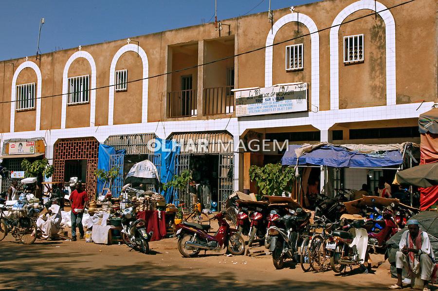 Comercio na rua em Uagadugu. Burkina Faso. 2010. Foto de Caio Vilela.