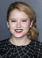 HOLLYWOOD, LOS ANGELES, CA, USA - SEPTEMBER 29: Taylor Spreitler arrives at the Los Angeles Premiere Of New Line Cinema's 'Annabelle' held at the TCL Chinese Theatre on September 29, 2014 in Hollywood, Los Angeles, California, United States. (Photo by Xavier Collin/Celebrity Monitor)