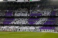 25.04.2012 SPAIN -  UEFA Champions League Semi-Final 2nd leg  match played between Real Madrid CF vs  FC Bayern Munchen 2 (1) - 1 (3) at Santiago Bernabeu stadium. The picture show