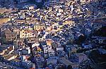 High density buildings in Castellammare del Golfo, Sicily, Italy