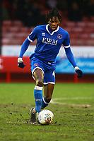 Omari Patrick of Carlisle United during Crawley Town vs Carlisle United, Sky Bet EFL League 2 Football at Broadfield Stadium on 15th February 2020