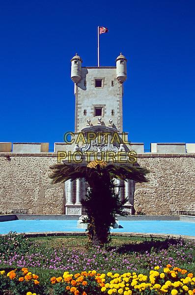 Puerta de Tierra, Plaza de la Constitucion, Cadiz, Spain