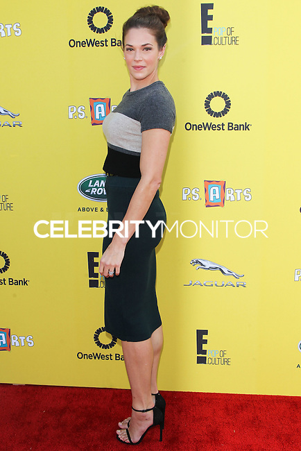 SANTA MONICA, CA, USA - NOVEMBER 16: Amanda Righetti arrives at the P.S. ARTS Express Yourself 2014 held at The Barker Hanger on November 16, 2014 in Santa Monica, California, United States. (Photo by Celebrity Monitor)