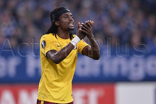 22.10.2015. Gelsenkirchen, Germany. UEFA Europa League football. FC Schalke versus Sparta Prague.  Costa ( Prag )