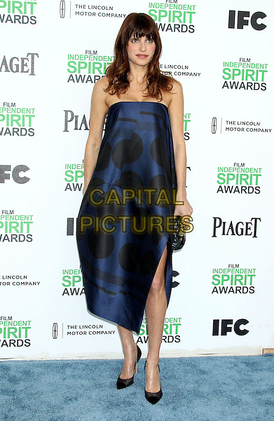 1 March 2014 - Santa Monica, California - Lake Bell. 2014 Film Independent Spirit Awards held at Santa Monica Beach. <br /> CAP/ADM/RE<br /> &copy;Russ Elliot/AdMedia/Capital Pictures