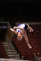 6/18/08 - Photo by John Cheng for USA Gymnastics.  Women Podium Training in Wachovia Center in Philadelphia.