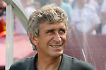 09 August 2009: Madrid head coach Manuel Pellegrini (CHI). Real Madrid of Spain's La Liga defeated DC United of Major League Soccer 3-0 at FedEx Field in Landover, Maryland in an international club friendly soccer match.