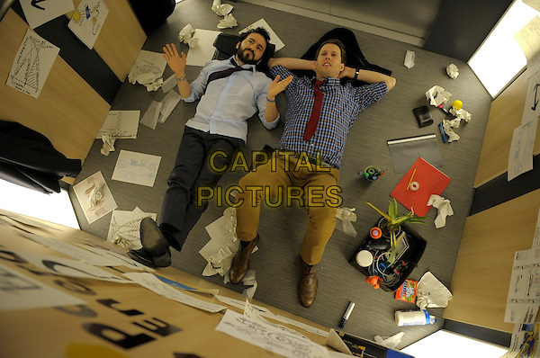 Christmas Eve (2015) <br /> Max Casella and Jon Heder<br /> *Filmstill - Editorial Use Only*<br /> CAP/KFS<br /> Image supplied by Capital Pictures