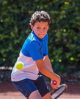 Hilversum, Netherlands, August 7, 2017, National Junior Championships, NJK, Yanik Maarsen - Jasper de Bruin<br /> Photo: Tennisimages/Henk Koster