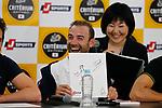 World Champion Alejandro Valverde (ESP) at the media day before the 2018 Saitama Criterium, Japan. 3rd November 2018.<br /> Picture: ASO/Yuzuru Sunada | Cyclefile<br /> <br /> <br /> All photos usage must carry mandatory copyright credit (© Cyclefile | ASO/Yuzuru Sunada)