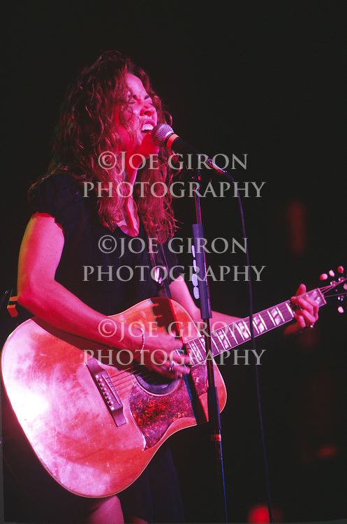 Various live photographs of Sheryl Crow