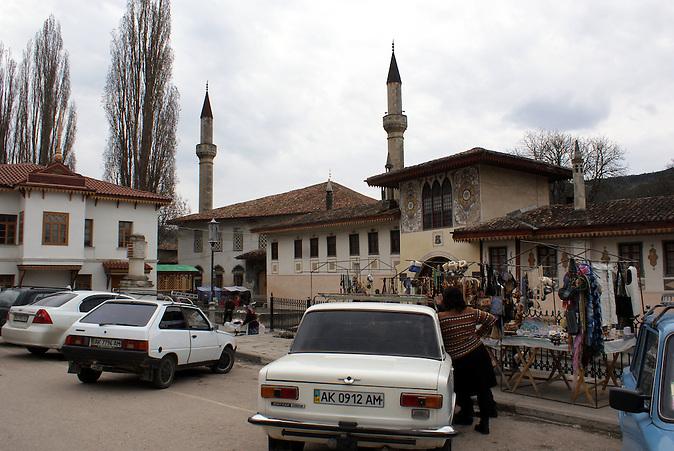 Der Palast von Bachtschyssaraj - Außenansicht
