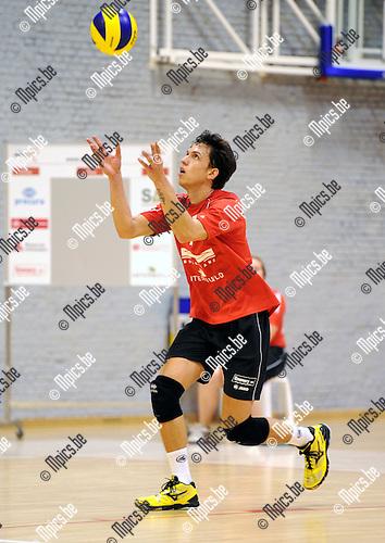 2011-09-28 / Volleybal / seizoen 2011-2012 / Antwerpen-Waasland / Marlon Rafael PALHARINI .Foto: Mpics