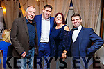 The Judges, Mike Foley (Kerry ETB), Margaret Kissane (Connect Magazine) and Darragh O'Sé (Daly and O'Se) with Kevin O'Connor at the fundraiser Croì Cycle Against Suicide on Monday night.