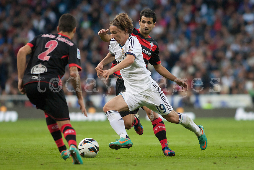 Luca Modric in action