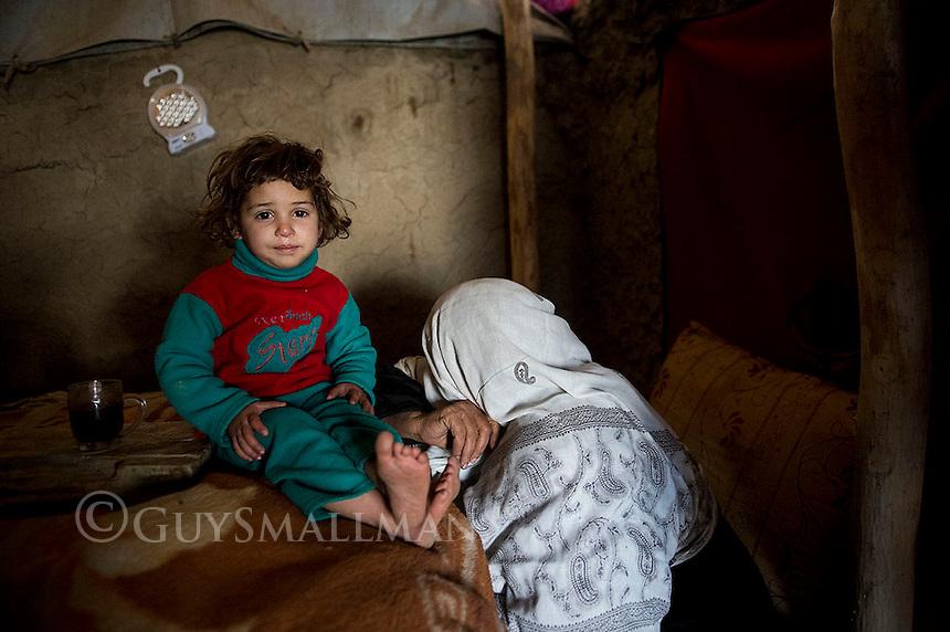 Afghan refugees at the Niandari 'Near Statium' camp for displaced people. 9-1-13