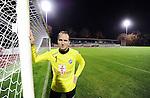 2015-10-22 / Voetbal / Seizoen 2015-2016 / FC Turnhout / Wim Hosten zal komend weekend weer onder de lat staan in het Stadsparkstadion.<br /><br />Foto: Mpics.be