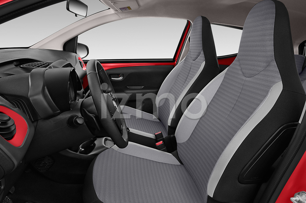 Front seat view of 2019 Toyota Aygo x-Play 5 Door Hatchback Front Seat  car photos