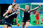 19/8 finale dames Ned-GBR