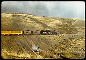 D&amp;RGW #480 K-36 with 2 cabooses, 2 coaches - excursion train.<br /> D&amp;RGW