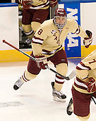 Edwin Shea (BC - 8) - The Boston College Eagles defeated the Air Force Academy Falcons 2-0 in their NCAA Northeast Regional semi-final matchup on Saturday, March 24, 2012, at the DCU Center in Worcester, Massachusetts.