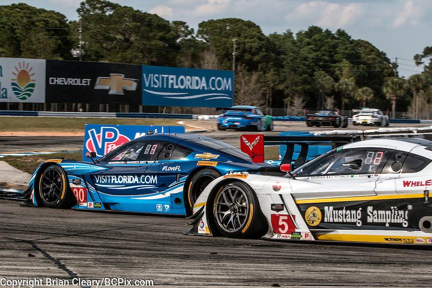 12 Hours of Sebring, Sebring International Raceway, Sebring, FL, March 2015.  (Photo by Brian Cleary/ www.bcpix.com )