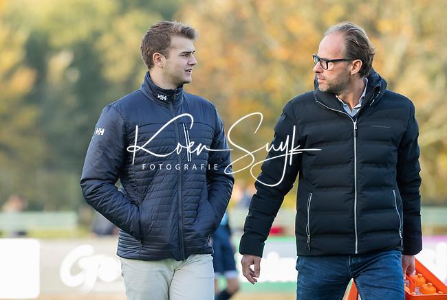 BLOEMENDAAL  -  Jan-Piet Nelissen (manager) , competitiewedstrijd junioren  landelijk  Bloemendaal JA1-Nijmegen JA1 (2-2) . COPYRIGHT KOEN SUYK