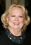 Barbara Cook attending the Opening Night Performance of the new Andrew Lloyd Webber Broadway Musical, THE WOMAN IN WHITE at the Marquis Theatre in New York City.<br />