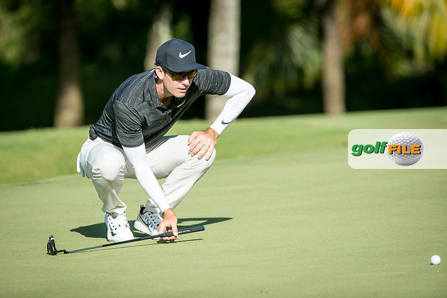 Dylan Frittelli (RSA) during the 1st round of the AfrAsia Bank Mauritius Open, Four Seasons Golf Club Mauritius at Anahita, Beau Champ, Mauritius. 29/11/2018<br /> Picture: Golffile | Mark Sampson<br /> <br /> <br /> All photo usage must carry mandatory copyright credit (© Golffile | Mark Sampson)