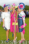 Clodagh Irwin-Owen, Killorglin,  Emer Irwin-O'Shea, Killorglin, Ciara Irwin-Foley, Killarney at Killarney races ladies day on Thursday.