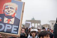2017/02/04 Berlin | Protest gegen Donald Trump