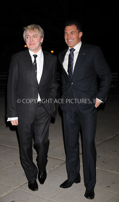 WWW.ACEPIXS.COM . . . . . ....April 21 2009, New York City....Musician Nick Rhodes (L) arriving at the Vanity Fair party for the 2009 Tribeca Film Festival at the State Supreme Courthouse on April 21, 2009 in New York City.....Please byline: KRISTIN CALLAHAN - ACEPIXS.COM.. . . . . . ..Ace Pictures, Inc:  ..tel: (212) 243 8787 or (646) 769 0430..e-mail: info@acepixs.com..web: http://www.acepixs.com