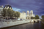 Notre Dame From The Seine